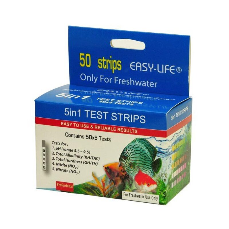 Easy-Life Test Strips 5 in 1 - 50 Teststreifen
