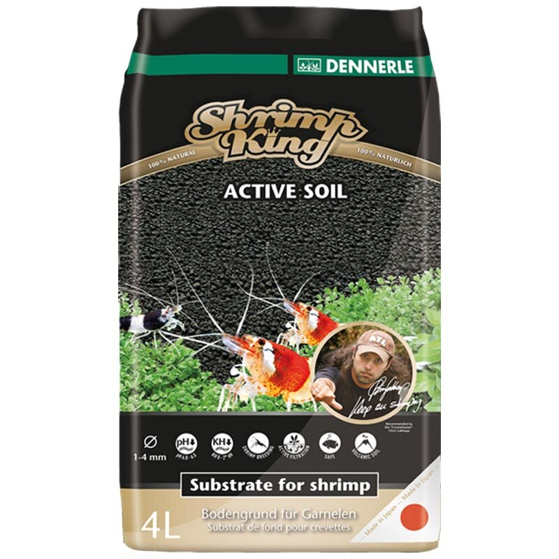 Bodengrund vom Dennerle Shrimp King Active Soil